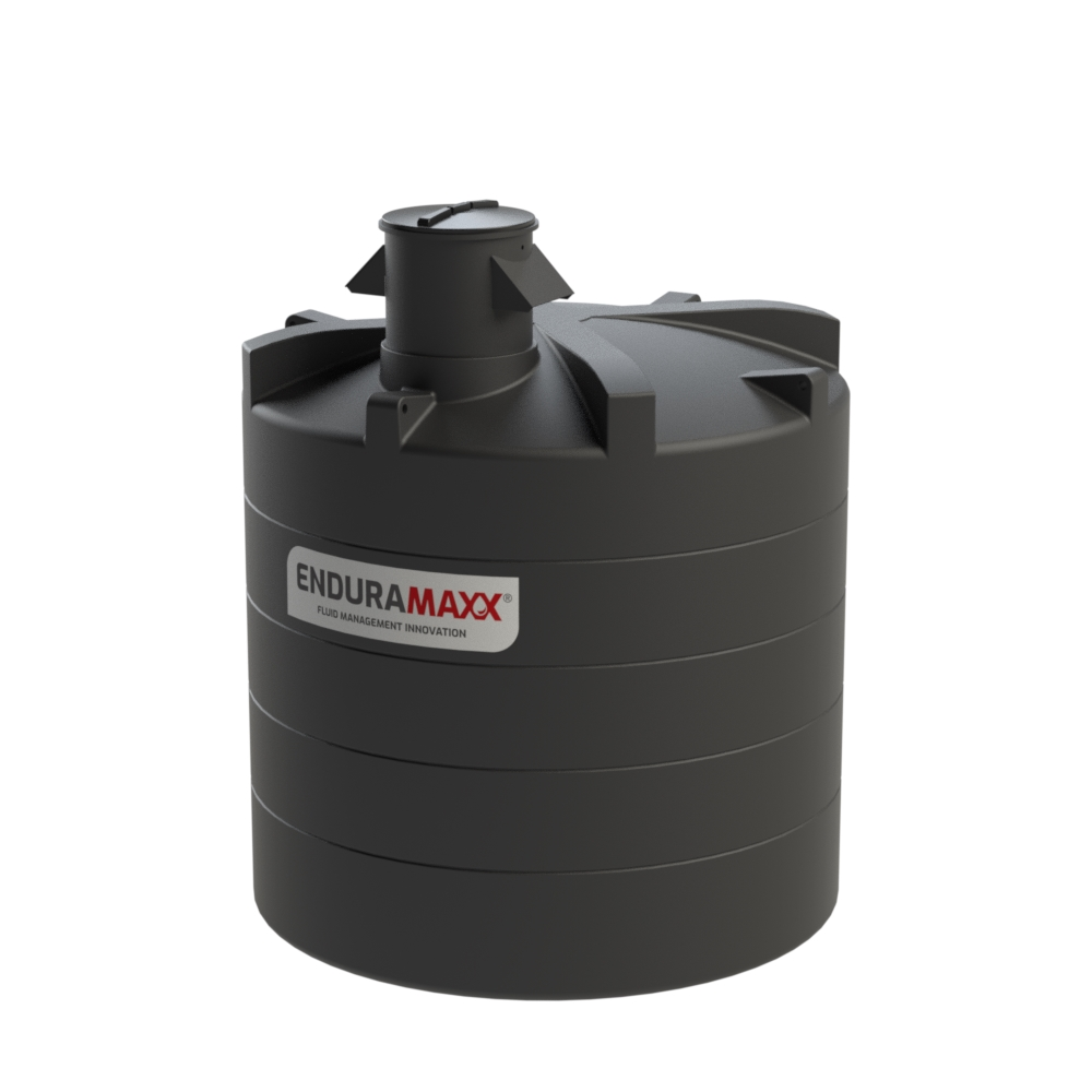 12,500 Litre Vertical WRAS Approved Tank with Turret and AB Air Gap Weir