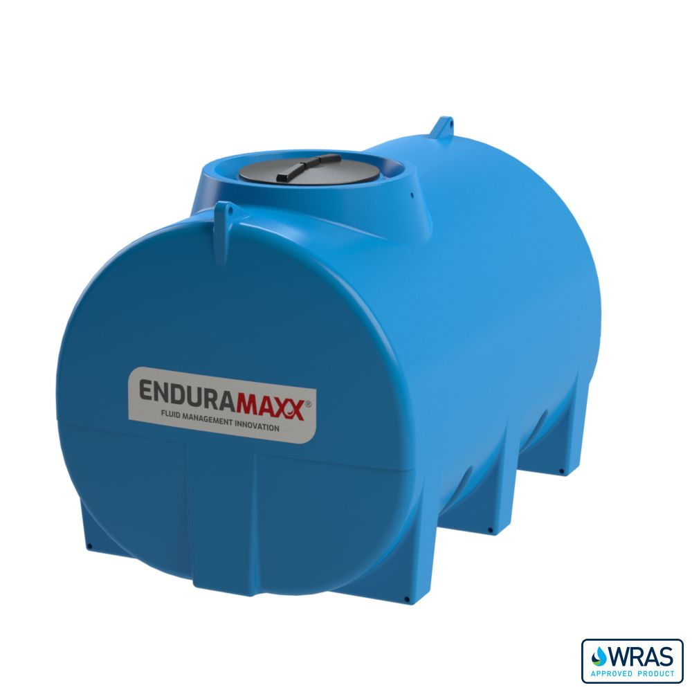 5,000 Litre Horizontal Static Tank WRAS Approved