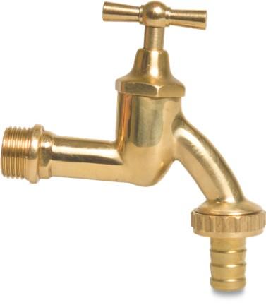 Brass Bib tap