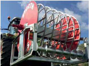 Storth-NCMR/1000 1000m Combi Mounted Reeler c/w A-Frame and LED Lighting Kit.